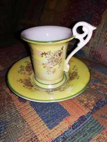 Cescuta cafea cu farfurioara