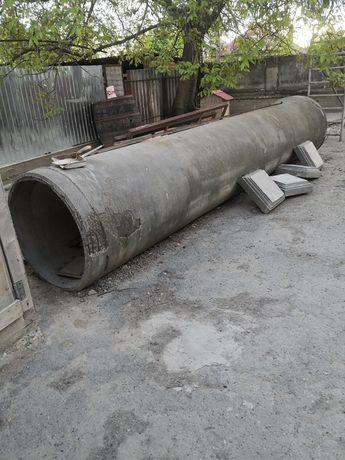 Tub beton  arata ca in poza