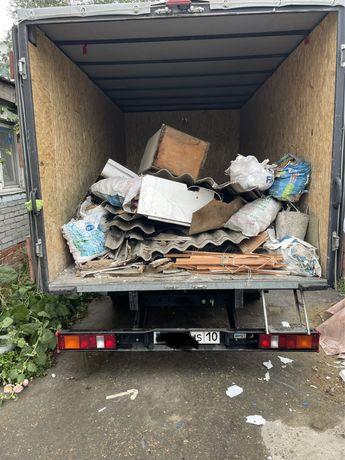 Вывоз мусора на свалку мебель