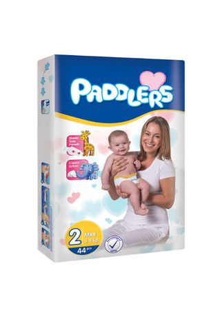 80 Buc Scutece Copii Paddlers, -35%, Mini, 3-6 kg, Marimea 2