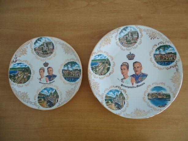 Set 2 Farfurii Decorative Porcelaines D'Art Monaco Monte Carlo