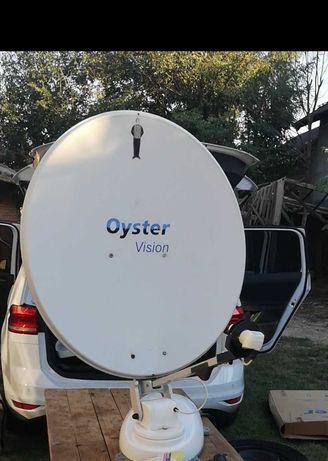 Antena satelit automata Oyster Vision 2 diametru 85cm