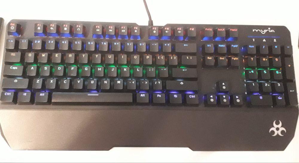 Tastatura gaming mecanica MYRIA MG7520 Bucuresti - imagine 1