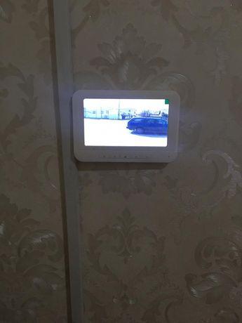 Установка домофонов и автоматики для распашных ворот в Шымкенте