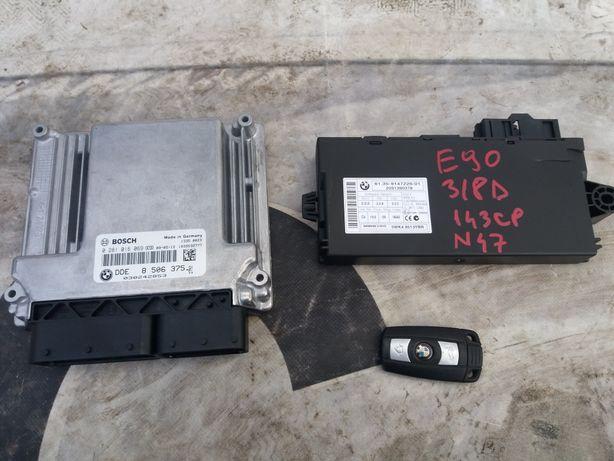 Chit kit pornire bmw e90 e91 e92 e93 facelift 318d 143cp manual