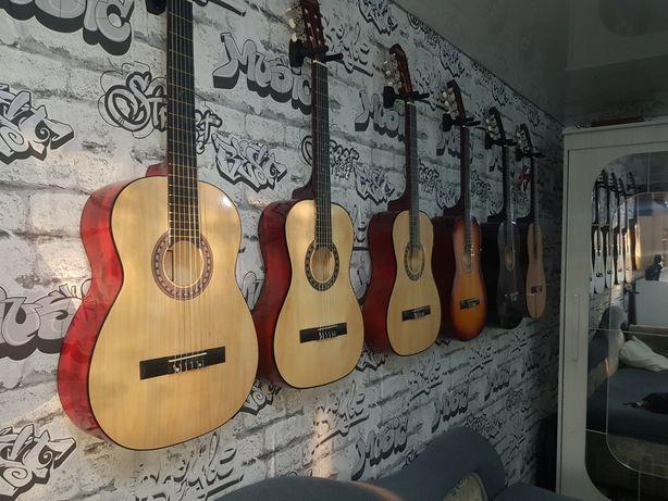 Гитары новые, аксессуары, цены ниже рыночных