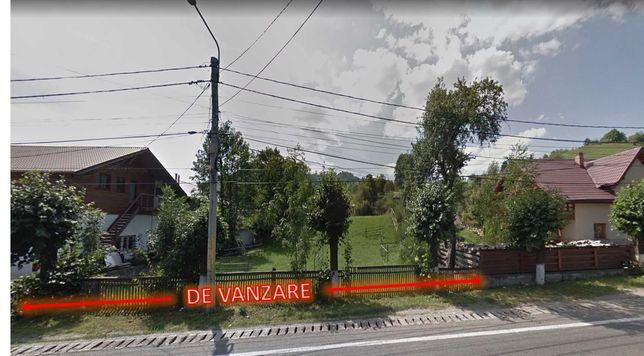 DE VÂNZARE teren 1850 m² în mun. Câmpulung Moldovenesc, Jud. SUCEAVA