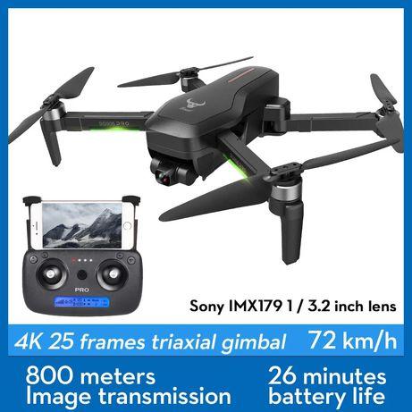 Drona Profesionala Sony 4K,14MP,Distanta 1200M,gimbal 3 axe,26Min,Noua
