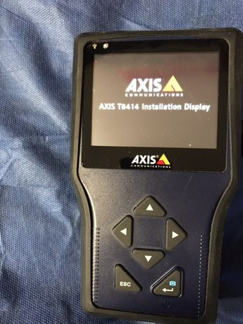 AXIS T8414 Installation Display