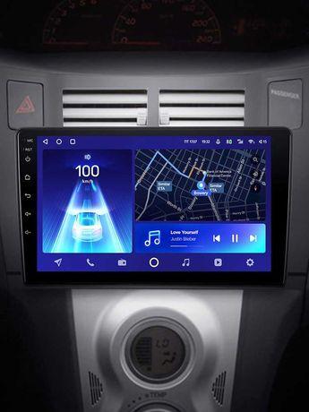 Андроид автомагнитолы Teyes, оригинал. Рассрочка/кредит Toyota Yaris