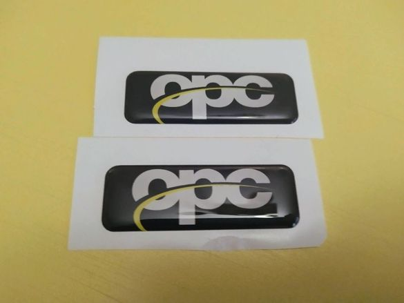 Обемен стикер opc 3d stickers opel astra vectra