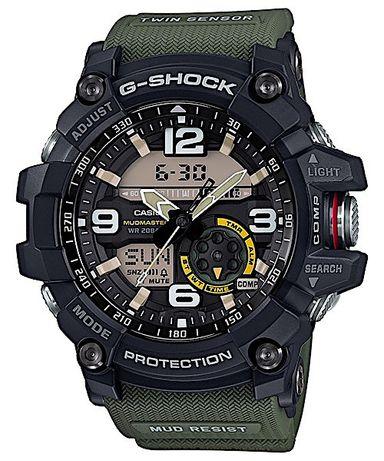 Ceas Sport Casio G Shock GG1000-1A3CR MUDMASTER,GREEN, ORIGINAL 100%