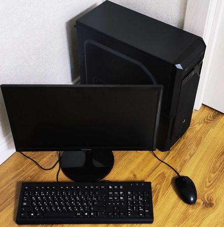 комп AsRock B250Pro+Core i5-7400 RAM8 SSD240Transced+500HDD