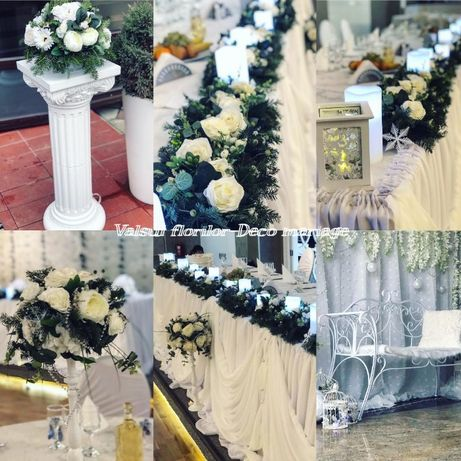 Aranjamente Florale,Fum greu dansul mirilor pt Prezidiu/Biserica/Decor