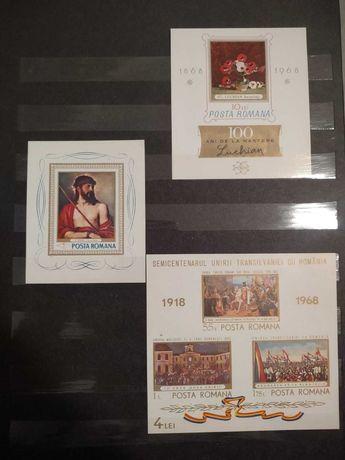 Colectie colite nedantelate rare 1968-1985