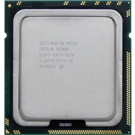 Серверный процессор LGA1366 Intel Xeon X5550 2,66GHz