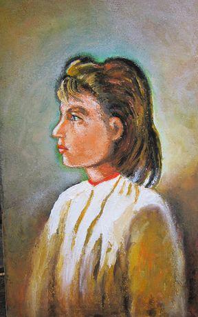 Tablou Portret fata