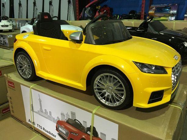 Masinuta electrica pentru copii Audi TTS Roadster 12V NOUA #Galben
