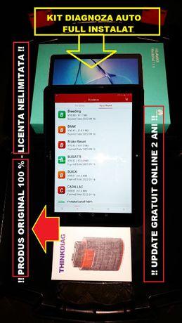 "Kit Diagnoza Auto Thinkdiag + Tableta Huawei 10"" Produs Original 100%"