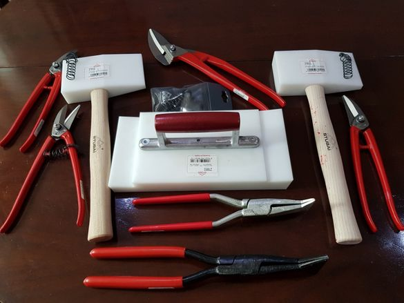 Инструменти за покриви ножица чук пеликан ламарина Щубай STUBAI