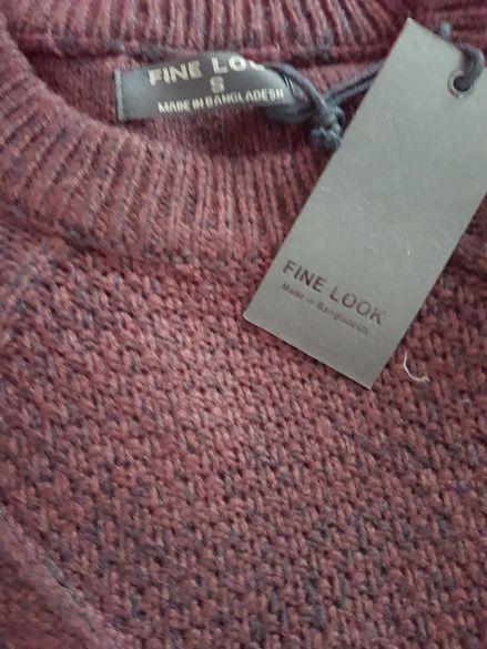Мъжка блуза пуловер