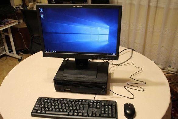 Настолен компютър - пълна конфигурация i5-3550S Монитор Lenovo 19 инча