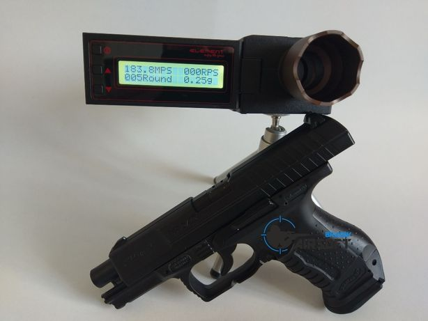 Pistol airsoft Walther P99 DAO 4 Joule Umarex , 4j max.Pachet complet