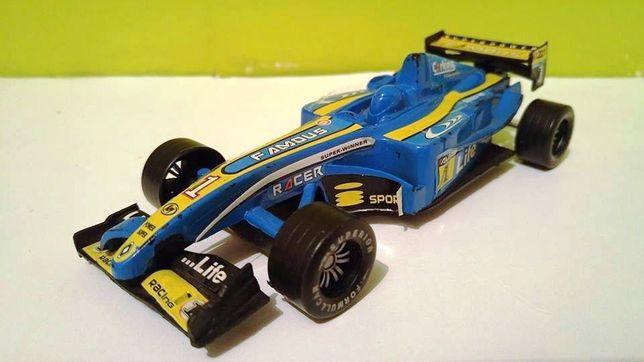 Jucarie veche masinuta Formula 1 cu frictiune