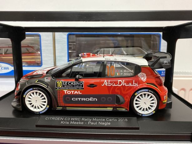 NOREV Citroen C3 WRC #10 macheta din metal scara 1:18