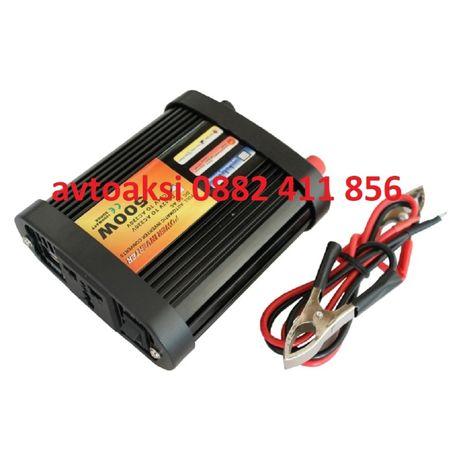 Инвертур преобразовател 24V - 220V / 500W - 2241