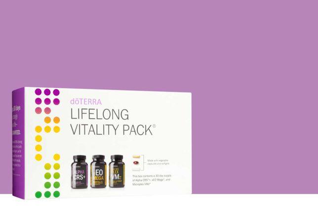 Pachetul dōTERRA Lifelong Vitality Pack™ - pentru imunizare/stimulare
