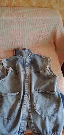 Жилетка.джинса.5000тенге