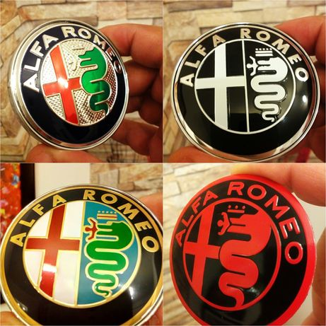 Alfa Romeo - set 4 capace pentru jante auto