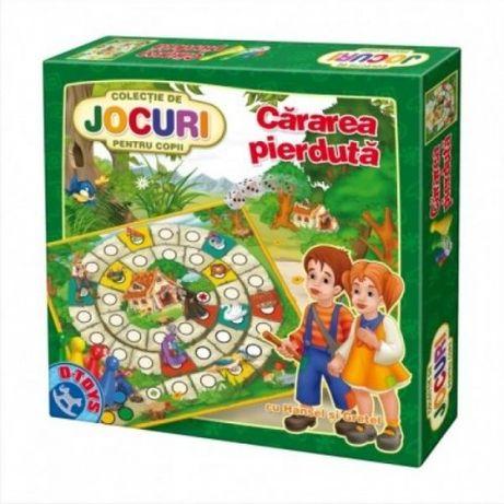 """Joc educativ """"Cararea pierduta"""" (cu Hansel si Gretel),jucarie copii"""