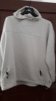 Hanurac alb cu nasturi decorativi, mas XL