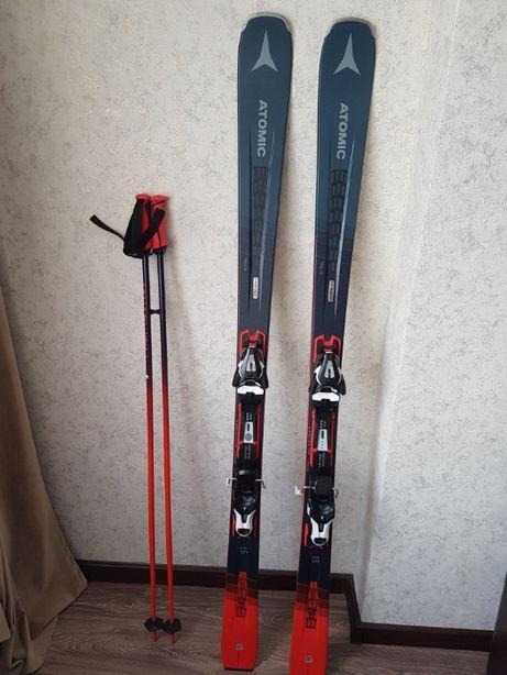 Лыжи горные Atomic Vantage 79 Ti + крепление Ft 12 Gw (ростовка 171)