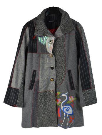Palton Dama Neslay marimea L Stil Desigual Gri O8