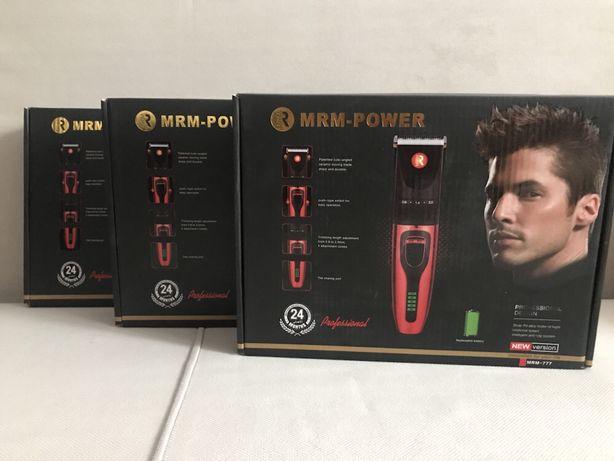 Машинка для стрижки волос MRM-power. В комплекте: зарядное устройство