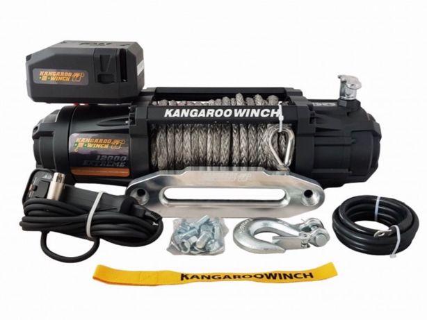 Troliu K 12000 EXTREME HD SR sufa sintetica PowerWinch/KangarooWinch
