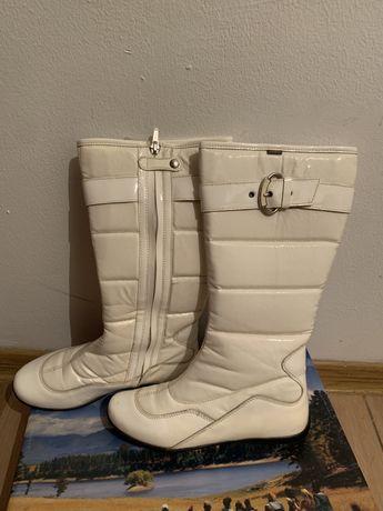 Женские белые зимные сапоги, 36 размера, primigi