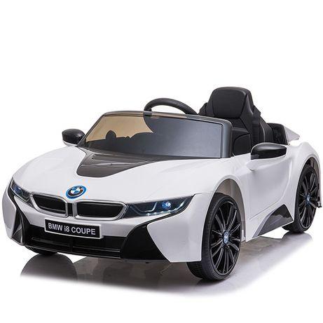 Masinuta electrica pentru copii BMW i8 12V Coupe STANDARD #Alb