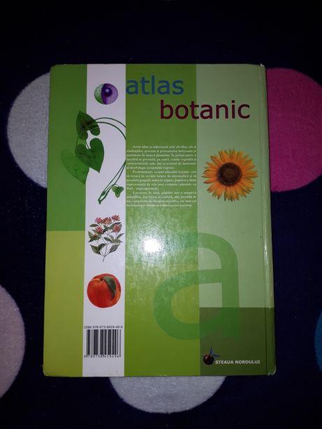Vand atlas botanică ptr elevi si studenti
