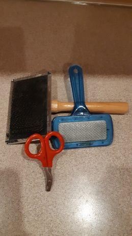 Продам расчёски для животных и ножницы дешево листайте