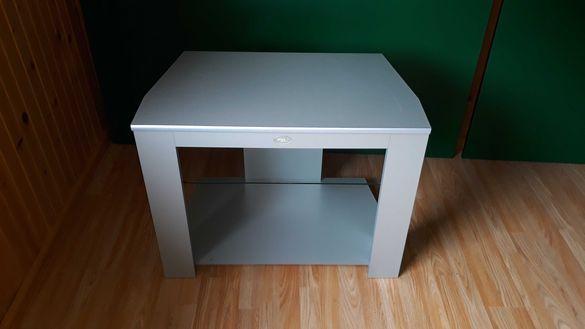 ТВ маса/шкаф със стъклен рафт