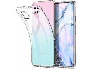Husa Slim Silicon Transparenta / Neagra - Huawei P40 Lite PRO