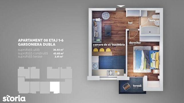 2 camere tip studio - Aparatorii Patriei - 45.679 -Drumul Jilavei