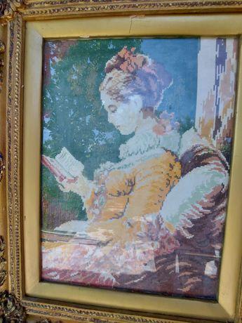 Гоблен Момичето със книгата и още 3 гоблена
