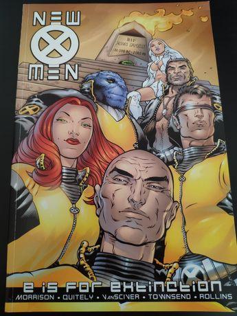 New X-Men TP E is for Extinction comic book