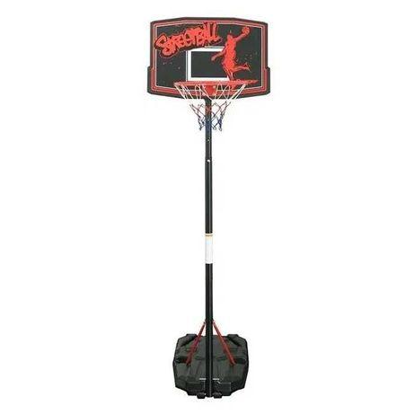 Cos de baschet  2,20 m cu panou si baza, pentru copii si adulti, mobil