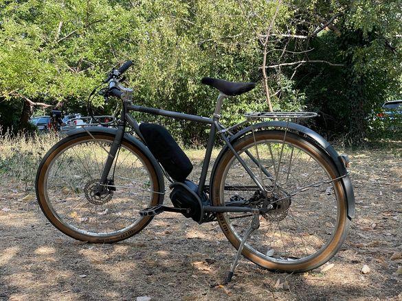 Електрически градски велосипед колело CRESTE CREME ON+ ebike